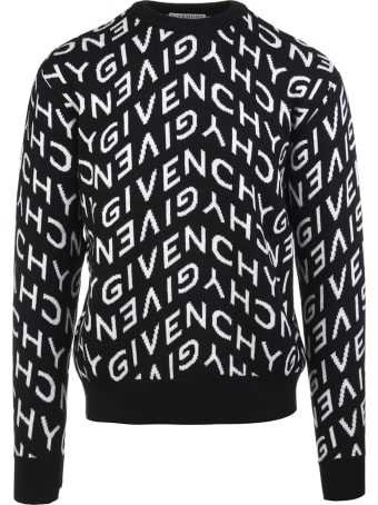 Givenchy Refracted Intarsia-knit Jumper