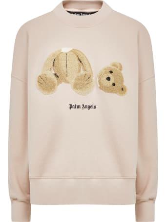 Palm Angels Over Bear Sweatshirt