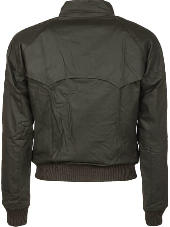 Barbour Vintage Effect Ribbed Jacket