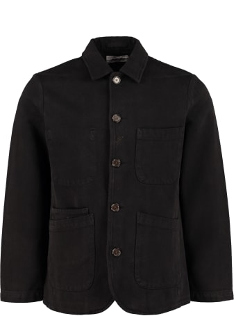 Universal Works Bakers Cotton Twill Overshirt