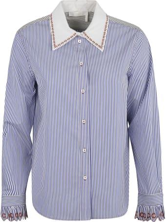 Chloé Stripe Print Shirt