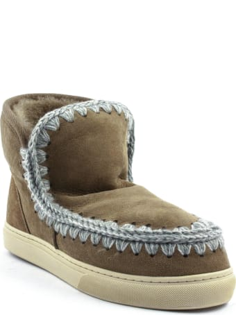 Mou Eskimo Sneaker Brown Leather