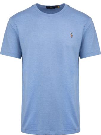 Ralph Lauren Crew Neck Soft Royal Blue T-shirt