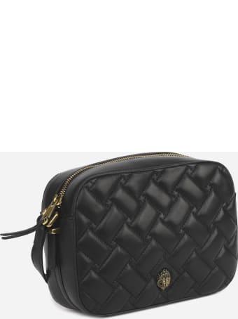 Kurt Geiger Kensington Shoulder Bag In Quilted-effect Leather