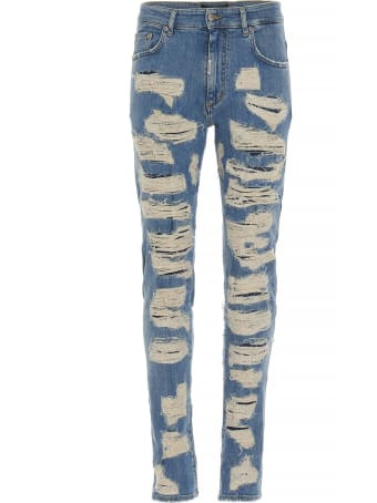 REPRESENT 'shredded' Jeans