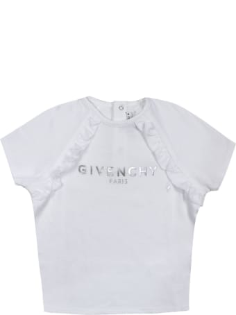 Givenchy White Cotton Blend T-shirt