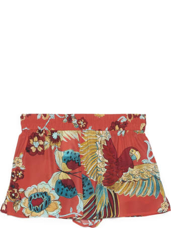 RED Valentino 'bird Of Parad Forest' Shorts