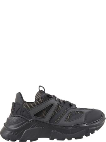 Cinzia Araia Black Sneakers For Kids