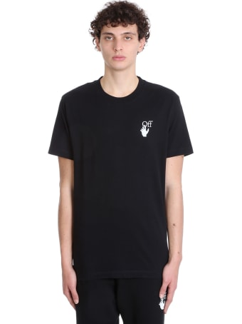 Off-White Marker Slim Tee T-shirt In Black Cotton