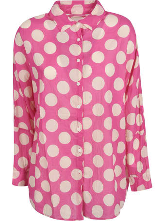 Casey Casey Oversized Polka-dot Shirt
