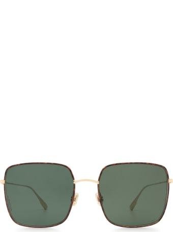 Dior Dior Stellaire1xs Gold Havana Sunglasses