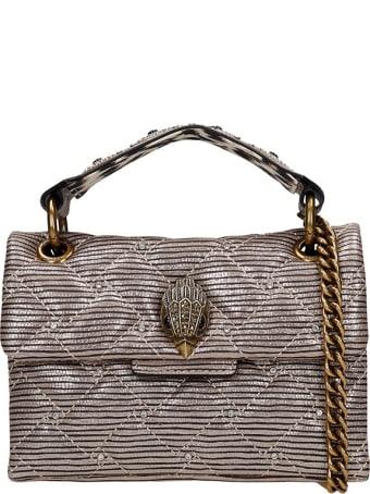 Kurt Geiger Shoulder Bag In Gold Leather