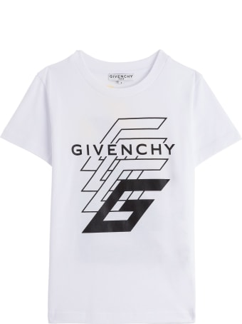 Givenchy Cotton T-shirt With Logo Print