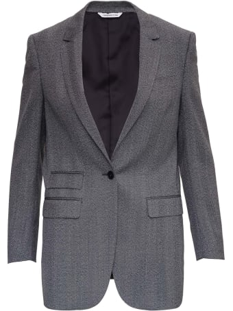 Tonello Single Breasted Gray Wool Jacket