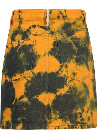 McQ Alexander McQueen Denim Skirt