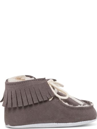Tartine et Chocolat Suede Cradle Shoes