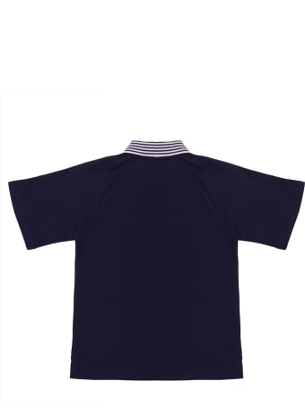 Gucci Logo Print Polo