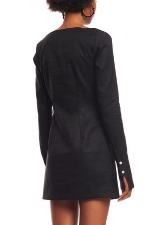 Coperni Fitted Tailored Dress
