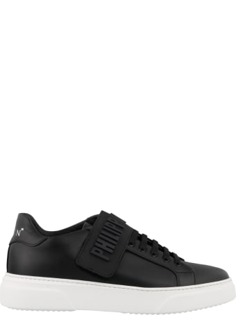 Philipp Plein Low Top Logo Sneakers