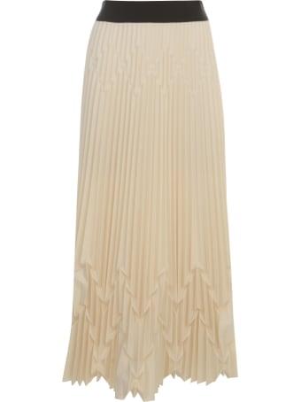 PierAntonioGaspari Pleated Long Skirt