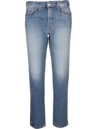 Alanui Embroidered Skinny Jeans