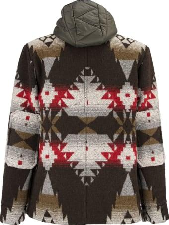 Paltò Livio Coat With Geometric Pattern