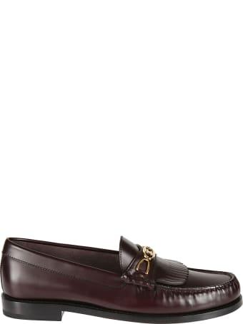 Celine Fringed Loafers