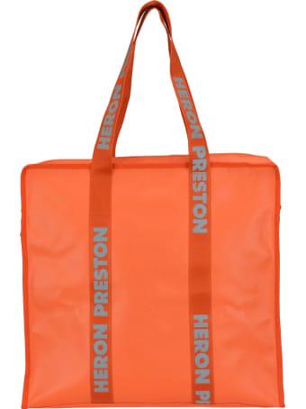 HERON PRESTON Logo Tote Bag