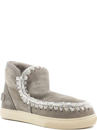 Mou Eskimo Sneaker In Grey