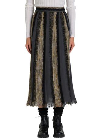 M Missoni Knit Midi Skirt