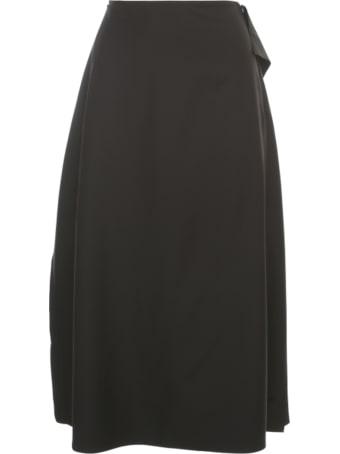 Sofie d'Hoore Midi Skirt W/side Volants