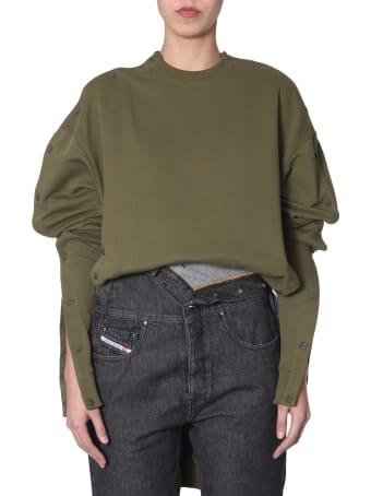 Diesel Sweatshirt In Collab With Glenn Martens