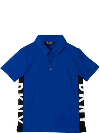 DKNY Blue Dkny Polo Shirt Teen