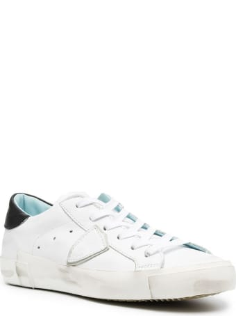 Philippe Model Prsx Low Leather Sneakers