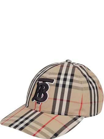 Burberry Cappello Tb Check Baseball