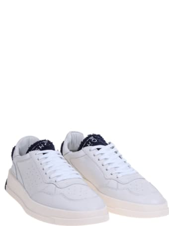 GHOUD Sneakers In Off White Leather