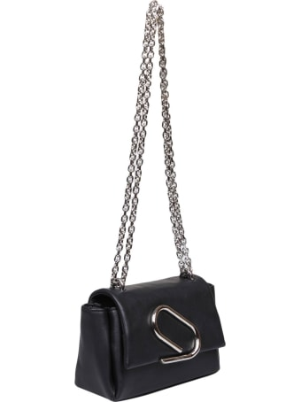 3.1 Phillip Lim Phillip Lim Alix Nano Soft Chain Bag In Black Leather