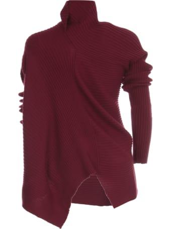 Marques'Almeida Merino Knit Draped Jumper
