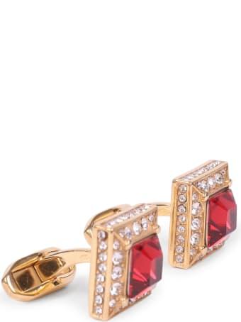Dolce & Gabbana Red Cufflinks