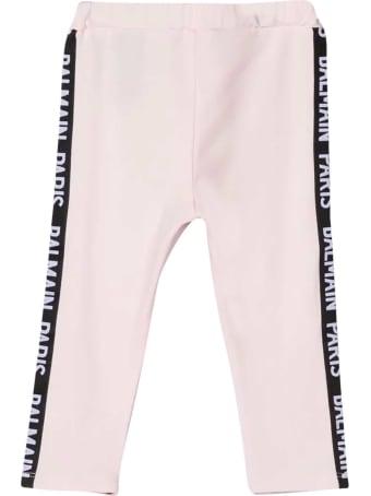 Balmain Pink Baby Trousers