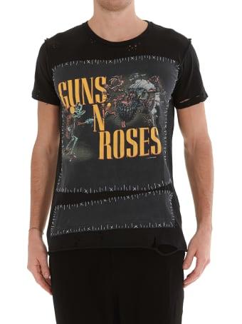 MJB - Marc Jacques Burton Vintage Guns And Roses Tshirt