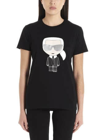 Karl Lagerfeld 'ikonic Karl' T-shirt