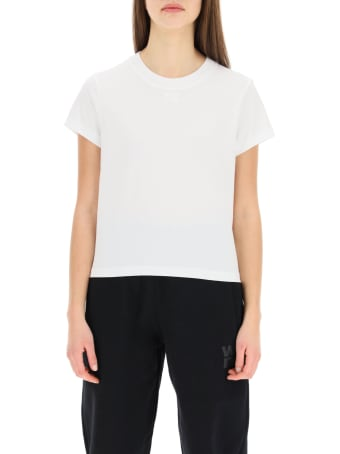 T by Alexander Wang T-shirt With Embossed Logo