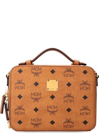 MCM Klassik Visetos Shoulder Bag