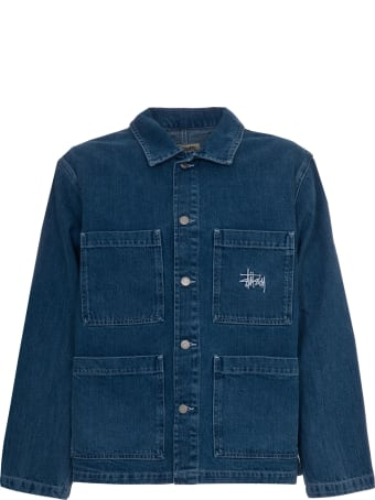 Stussy Blue Denim Chore Jacket