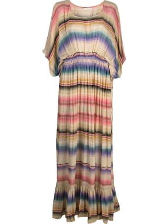Mes Demoiselles Long Cozumel Dress With Multicolor Stripes