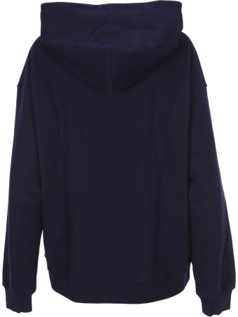 Vivienne Westwood Anglomania Anglomania Logo Patch Hoodie