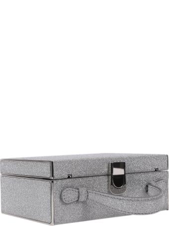 Mark Cross Silver Rear Window Bag