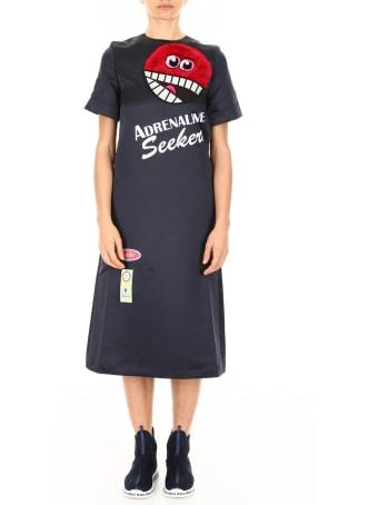 Mira Mikati Adrenaline Seekers Satin Dress