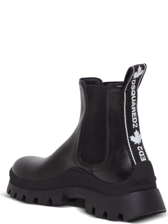 Dsquared2 Beatles Tank Tape Ankle Boots